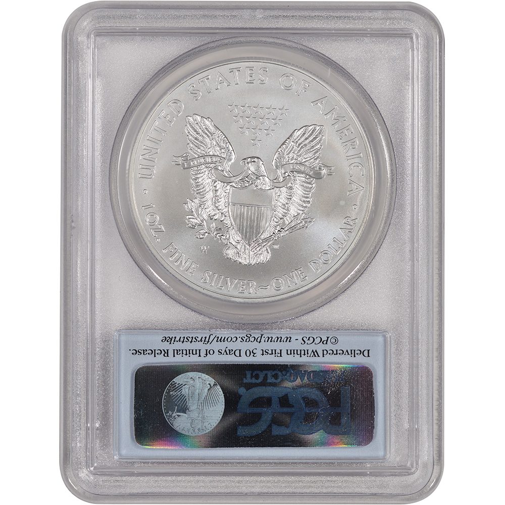 2013-W American Silver Eagle - Uncirculated Collectors Burnished Coin