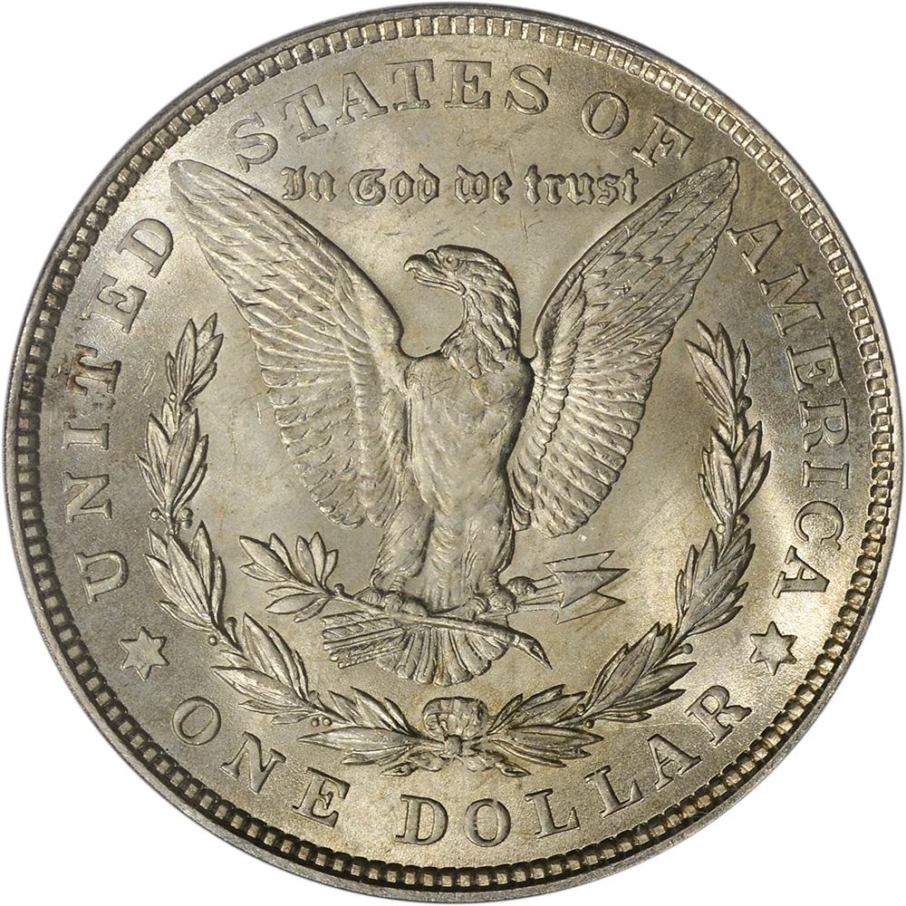 1921 Us Morgan Silver Dollar 1 Pcgs Ms65 Ebay