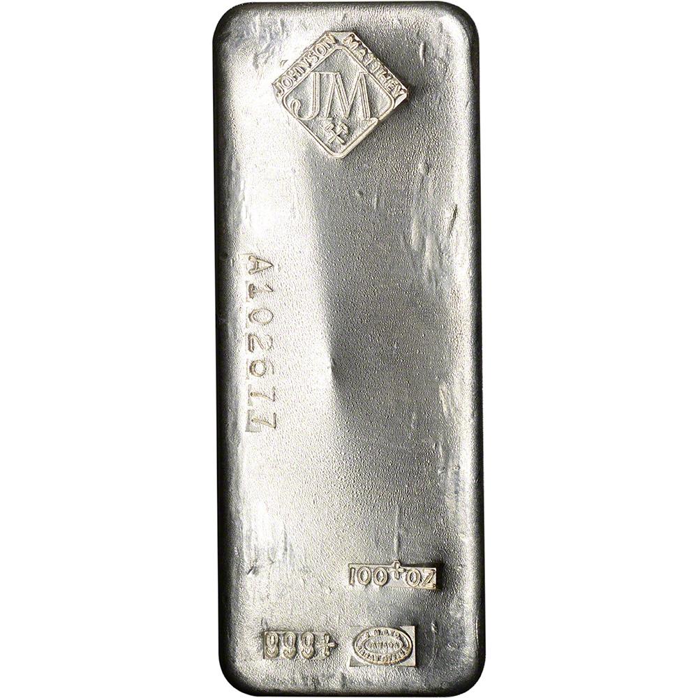 Johnson matthey silver bar key generator