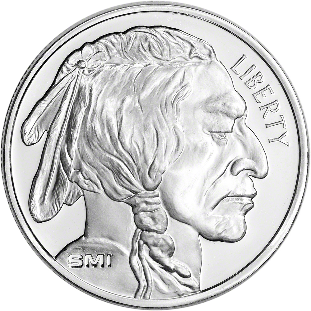 500 Oz Silvers: FIVE HUNDRED (500) 1 Oz. Silver Round