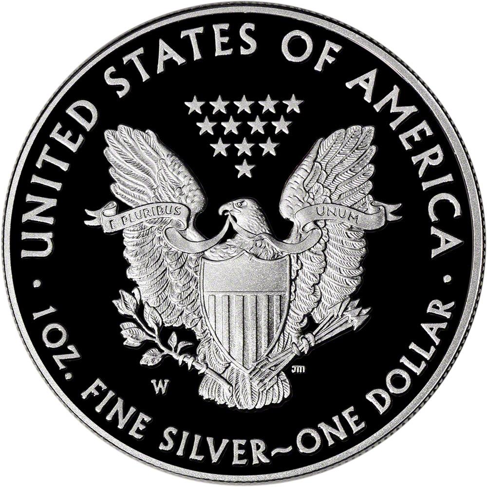 2015 W American Silver Eagle Proof Es6 Ebay