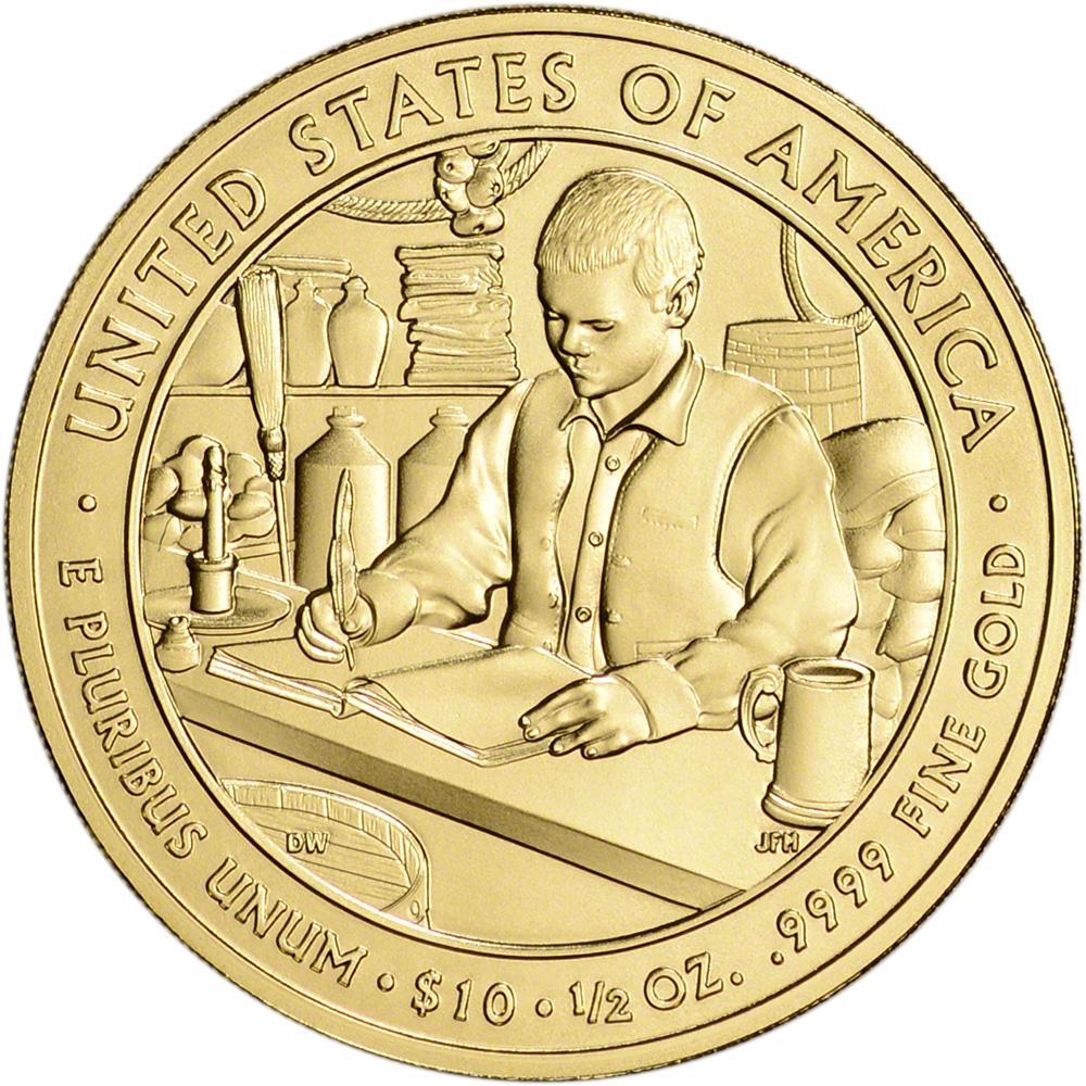 james buchanan one dollar coin