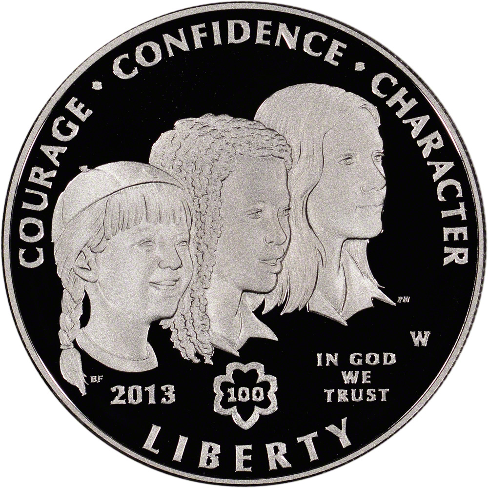 us mint girl scout coin