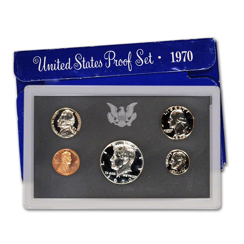1970 S Us Mint Proof Set Ebay