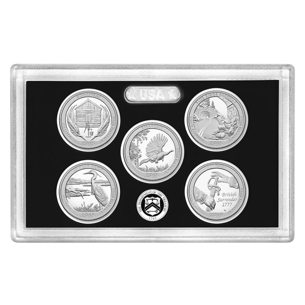 2015 United States Mint America the Beautiful Quarters ...