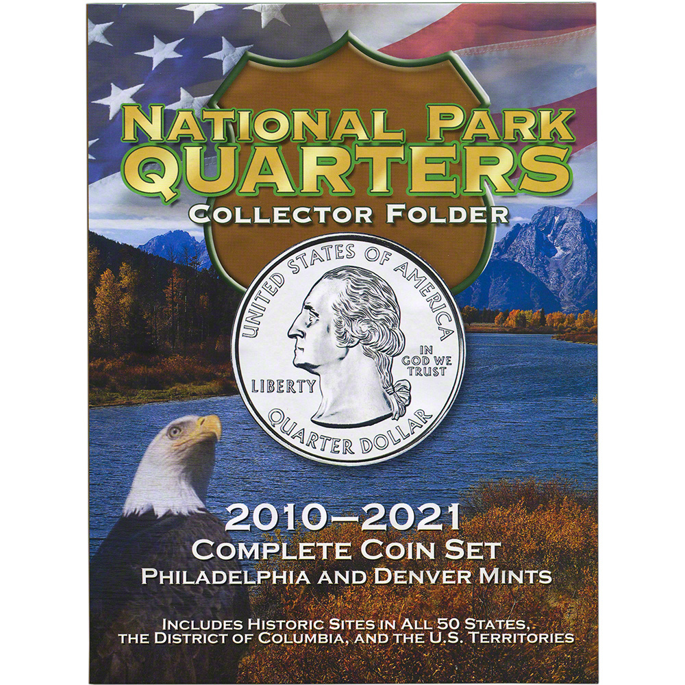 Whitman National Park Quarters Collector Folder Philadelphia And - Us national park quarters book