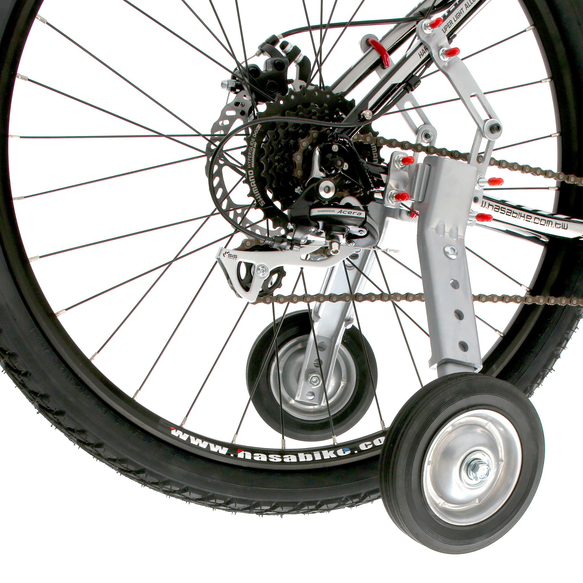 Как сделать дополнительные колеса на велосипед