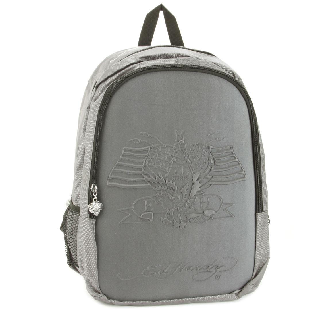 Ed Hardy Asphalt Mira Embossed American Eagle Backpack   eBay