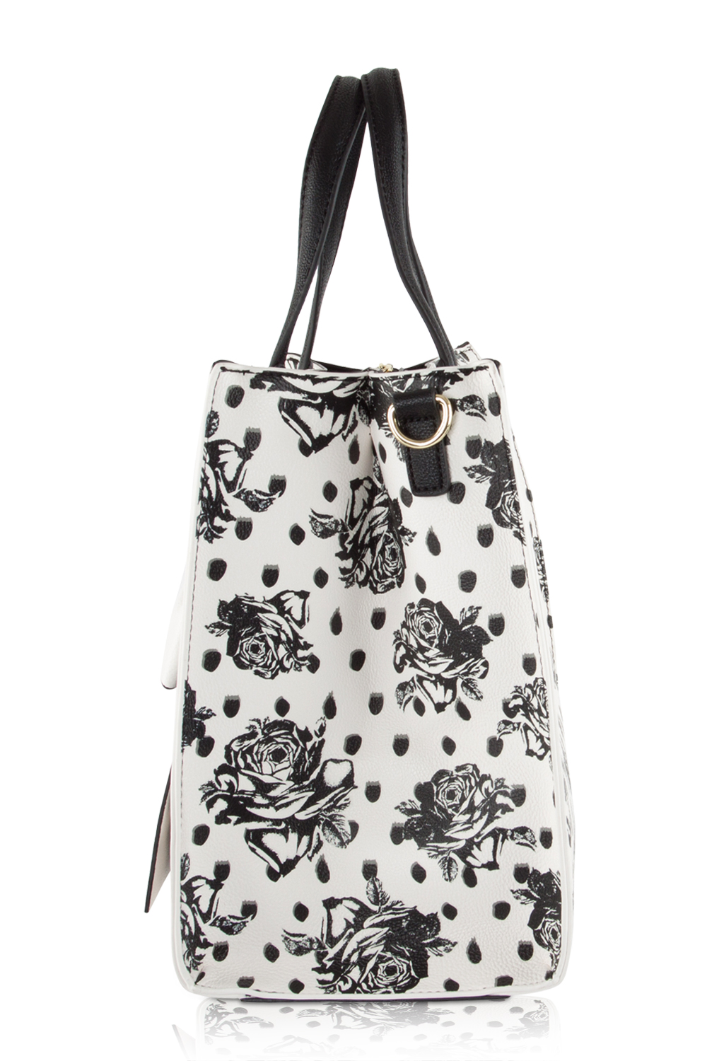 Betsey Johnson Bag In Bag Satchel Tote With Pouch - Floral | EBay