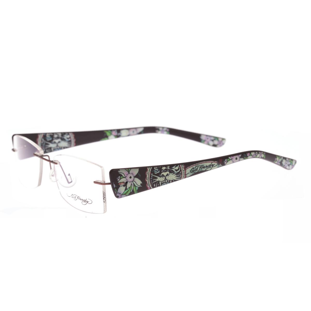 Ed Hardy Lites Eyeglasses Frames : Ed Hardy EHL-814 Lite Designer Eyeglasses eBay