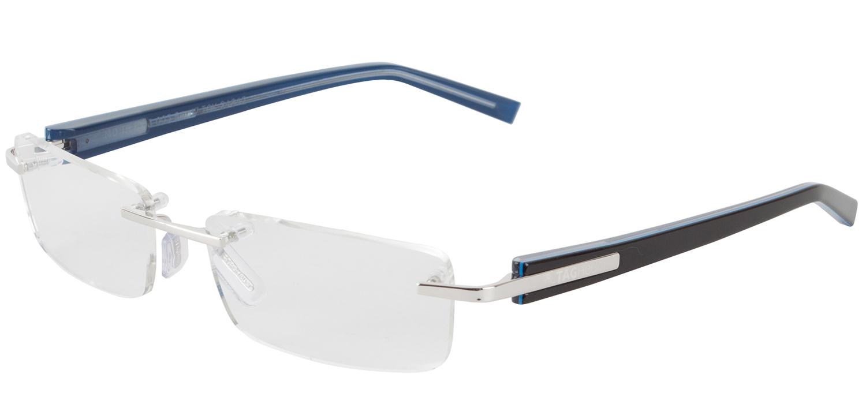 Tag Heuer 8103 003 Trends Rimless Eyeglasses Blue Polished ...